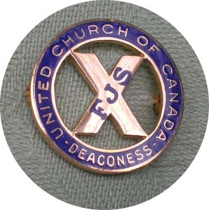 Deaconess Pin