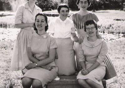 Dau-Heather-Shirley-Beckman-Marion-Ronalds-Verna-Crooks-McKay-Elaine-Harland-Fraser-Maritime-Conference-1960